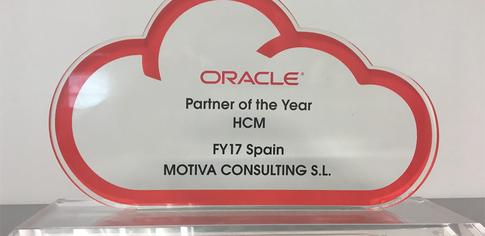 Oracle Partner of the Year 2017