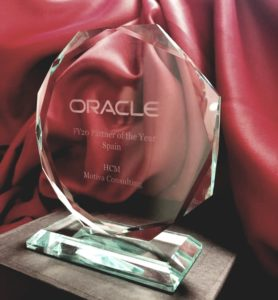 Premio Partner of the Year HCM Oracle