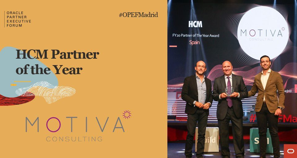 Motiva Partner of the year HCM Oracle